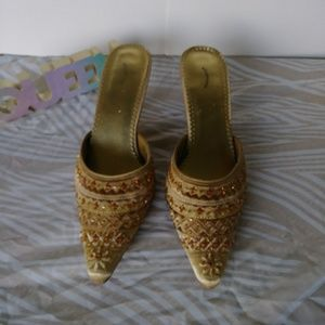 Ellemenno Morocco Kitten Heels